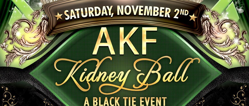 2019 Kidney Ball Black Tie Event