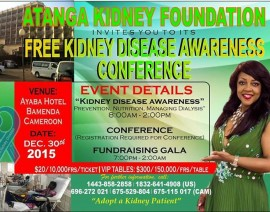 Kidney Disease Awareness Conference- Cameroon